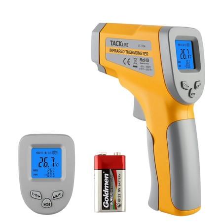 8 euros de descuento en el termometro de infrarrojos sin contacto Tacklife IT-T04: ahora 9,99 euros en Amazon