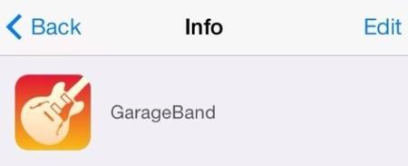 garageband ios 7 icono