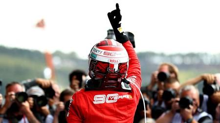 Leclerc Spa F1 2019