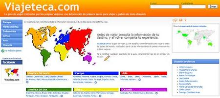 Viajeteca, una guía de viajes 2.0