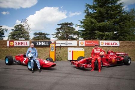 Pasado y presente de la Fórmula 1 compartieron asfalto en Goodwood
