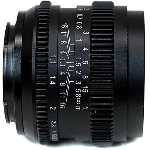SLR Magic anucia su objetivo 50mm  f/1.1 con montura FE para Sony