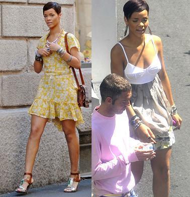 Los looks de calle de Rihanna