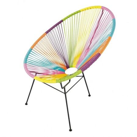 Silla multicolor