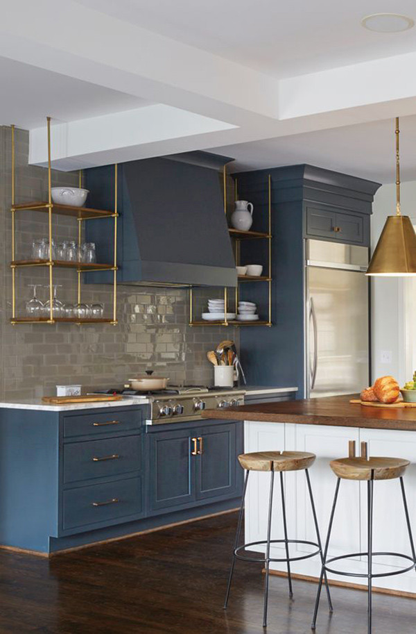 Muebles Azules Cocina 3