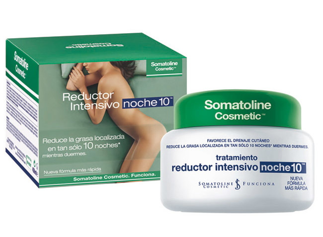 Somatoline producto y packaging