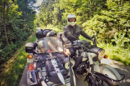 Un largo viaje en moto con plan B
