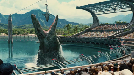 Jurassic World Super Bowl Trailer 1