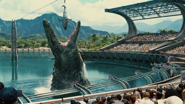 Jurassic World Super Bowl Trailer 1
