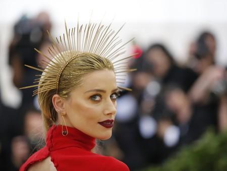 Gala MET 2018: la corona de Amber Heard es DIY y fácil de hacer, porque no es caro todo lo que reluce