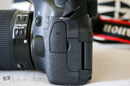 Canon EOS 70D lateral