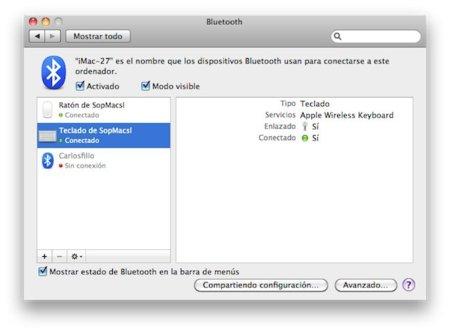 Cómo configurar y usar un teclado bluetooth con el firmware 4.0