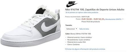 Zapatillas Desde Más 33 Amazon En Modelos Nike De Ofertas 60 g857qnW4x