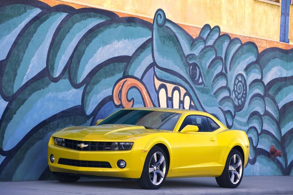 Foto de Chevrolet Camaro Coupé y Convertible (5/12)