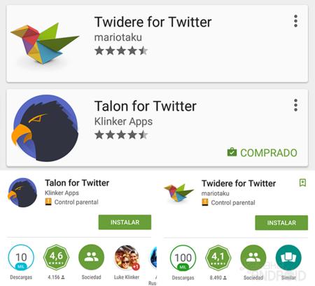 Estrellas Google Play 2