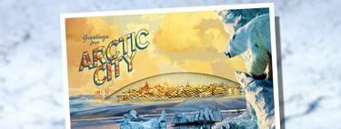 The Arctic City: cuando en los 70 soñábamos con ciudades en el Polo Norte con gigantescas cúpulas para acoger a 40.000 personas