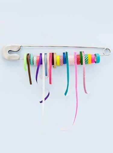Una buena idea: un imperdible gigante para organizar tus rollos de washi tape