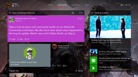 Xbox One Actualizacion 6