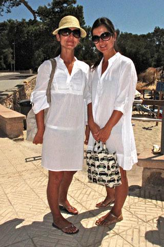 vestidos blancos playa