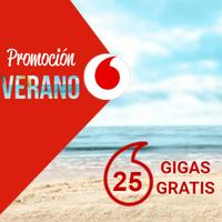 Vodafone también regalará 25 GB en contrato como promoción de verano