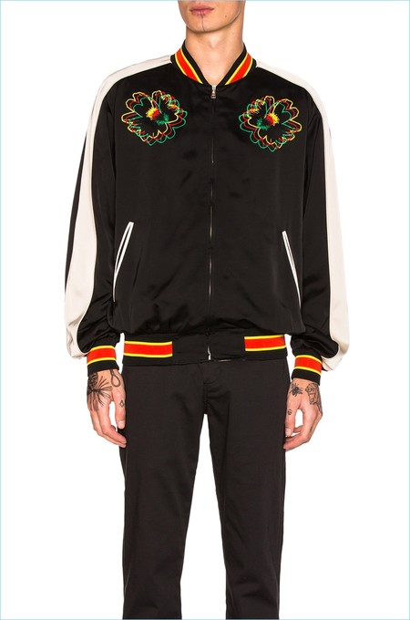 Stella Mccartney Menswear Bomber Jacket