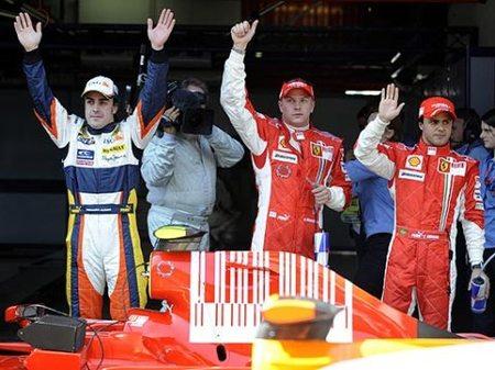 Fernando Alonso se queda a un suspiro de la pole en casa