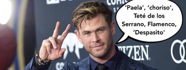 La espontánea reacción de los hijos de Chris Hemsworth y Elsa Pataky cuando el acThor intenta hablar en español