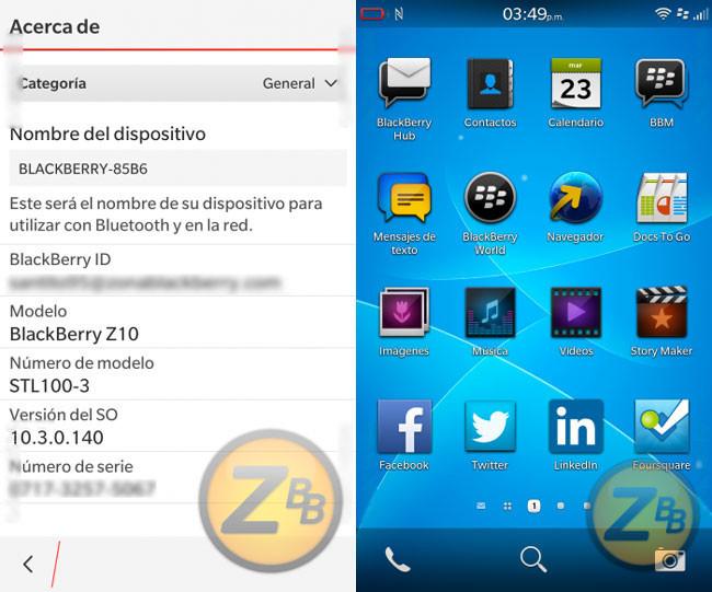 Blackberry 10.3, empiezan los rumores