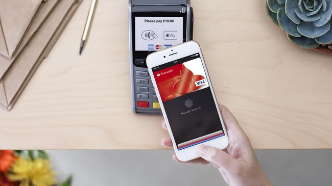 Apple Pay Santander
