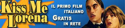 'Kiss Me Lorena', el primer film italiano descargable gratis en la red