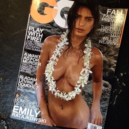 Emily Ratajkowski y GQ se marcan la portada del año