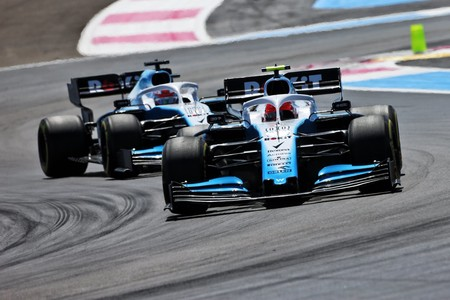 Kubica Russell Francia F1 2019