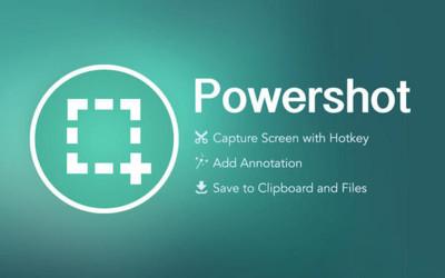 Powershot, capturas de pantalla vitaminadas en nuestro Mac