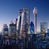 The Tulip: el impresionante rascacielos de Londres que tendrá paseos en cápsulas de cristal en su exterior a 305 metros de altura