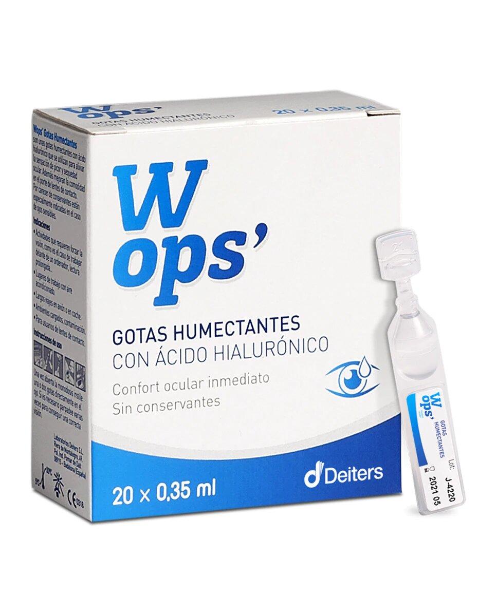 20 Monodosis Gotas Humectantes Wops
