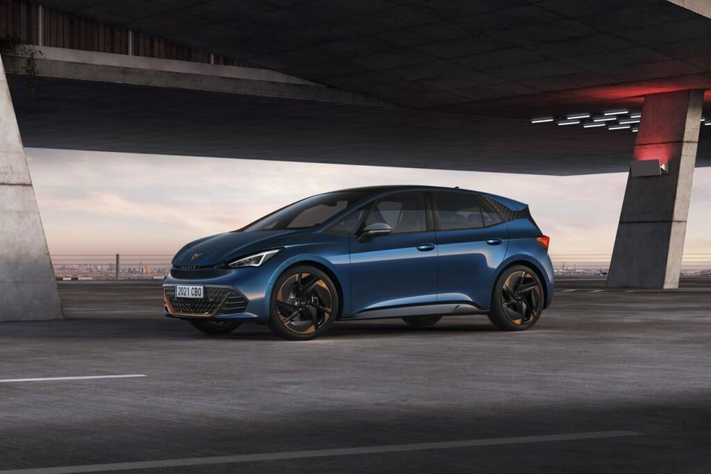 CUPRA Born: el coche eléctrico diseñado en España es un deportivo compacto con hasta 231 CV y 540 km de autonomía
