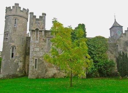 El castillo de Howth en Irlanda
