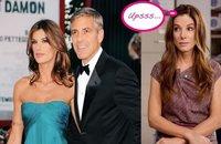 Sandra Bullock cuida de George Clooney, tras su ruptura con Elisabetta Canalis
