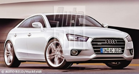 Un posible Audi A3 coupé de cuatro puertas para 2013