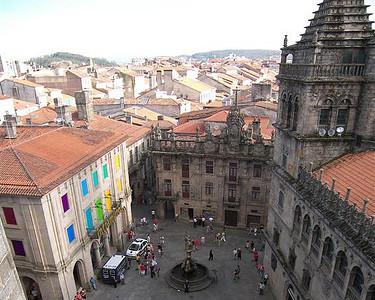Desde lo alto de la Catedral de Santiago. Tus fotos de viaje