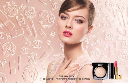 Chanel nos adelanta la primera imagen de su campaña Primavera-Verano 2013