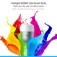 Oferta Flash: bombilla inteligente Xiaomi Yeelight RGBW, con conectividad WiFi, por 14,85 euros
