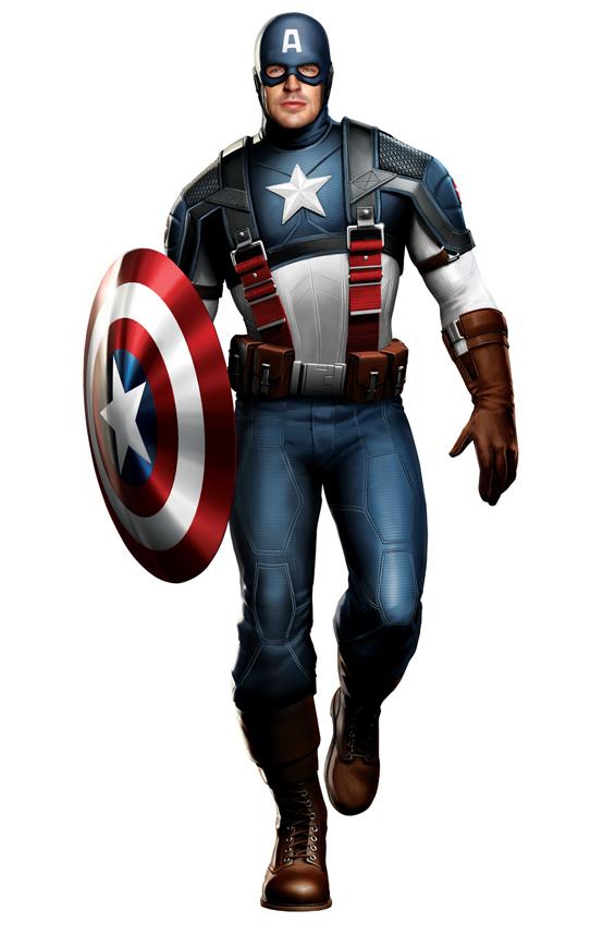 Foto de Capitán América y Thor, diseños de los trajes (1/5)