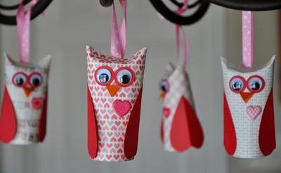 Cinco manualidades de San Valentín para hacer con los niños