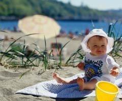 Qué llevarle al bebé en vacaciones