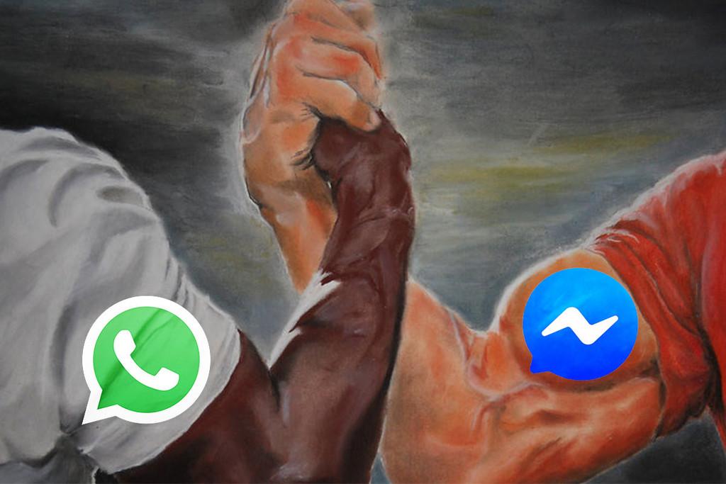 Facebook ya trabaja en la adaptación de WhatsApp con Facebook Messenger