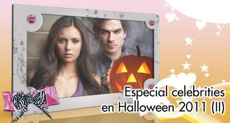 Especial celebrities en Halloween 2011: Los chicos de 'Glee' y 'Crónicas Vampíricas'