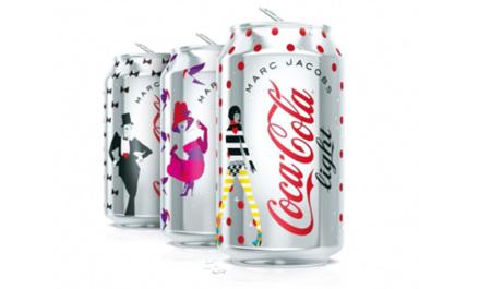 Ya conocemos las latas de Diet Coke diseñadas por Marc Jacobs