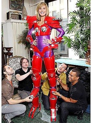 Halloween 2010: el disfraz de robot de Heidi Klum
