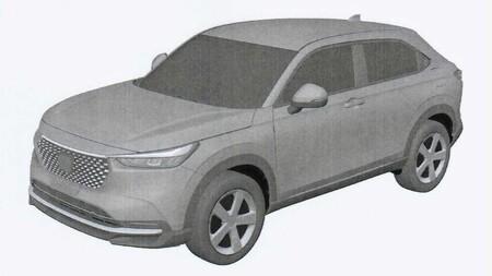 ¡Filtrado! Salen a la luz los bocetos de la nueva generación de Honda HR-V 2022